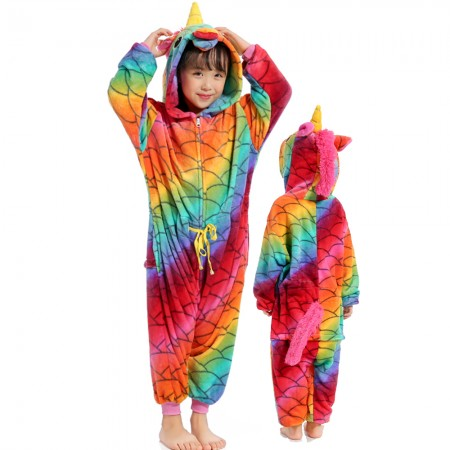New Mermaid Unicorn Onesie Costume Pajama Kids Animal Outfit for Boys & Girls