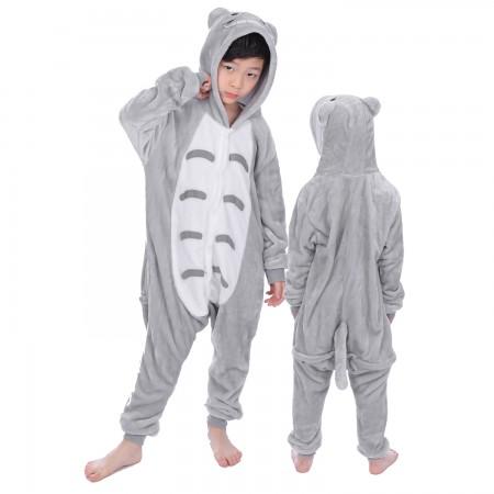 Totoro Onesie Costume Pajama Kids Animal Outfit for Boys & Girls