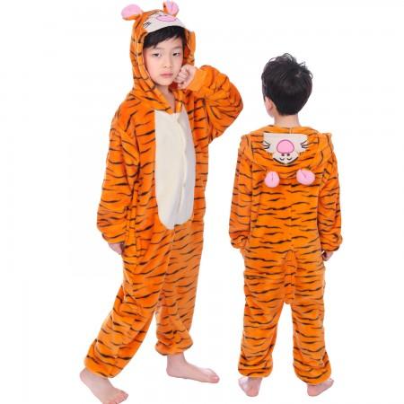 Kids Winnie The Pooh Tigger Onesie Costume Pajama Animal Outfit for Boys & Girls