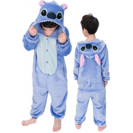Kids Stitch Onesie Costume Pajama Animal Outfit for Boys & Girls