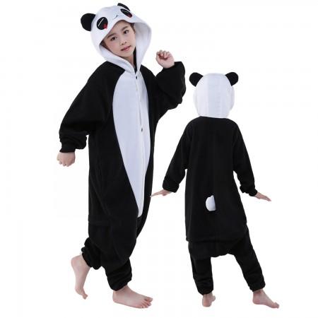 Kids Tears Panda Costume Onesie Pajama Animal Outfit for Boys & Girls
