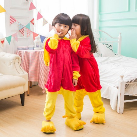 Kids Winnie The Pooh Costume Onesie Pajama Animal Outfit for Boys & Girls