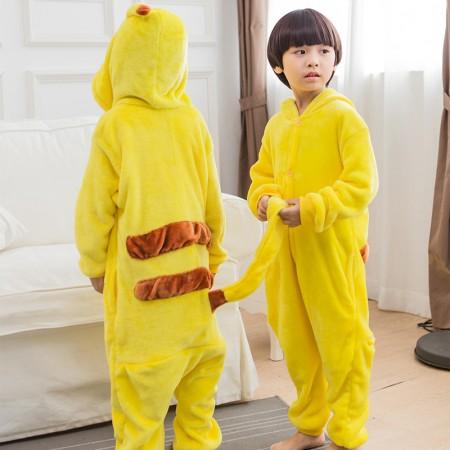 Kids Pokemon Pikachu Costume Onesie Pajama Animal Outfit for Boys & Girls