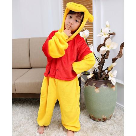 Kids Winnie The Pooh Costume Onesie Pajama Animal Outfit for Boys & Girls