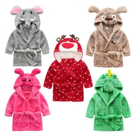 Kids Animal Bathrobes for Boys & Girls